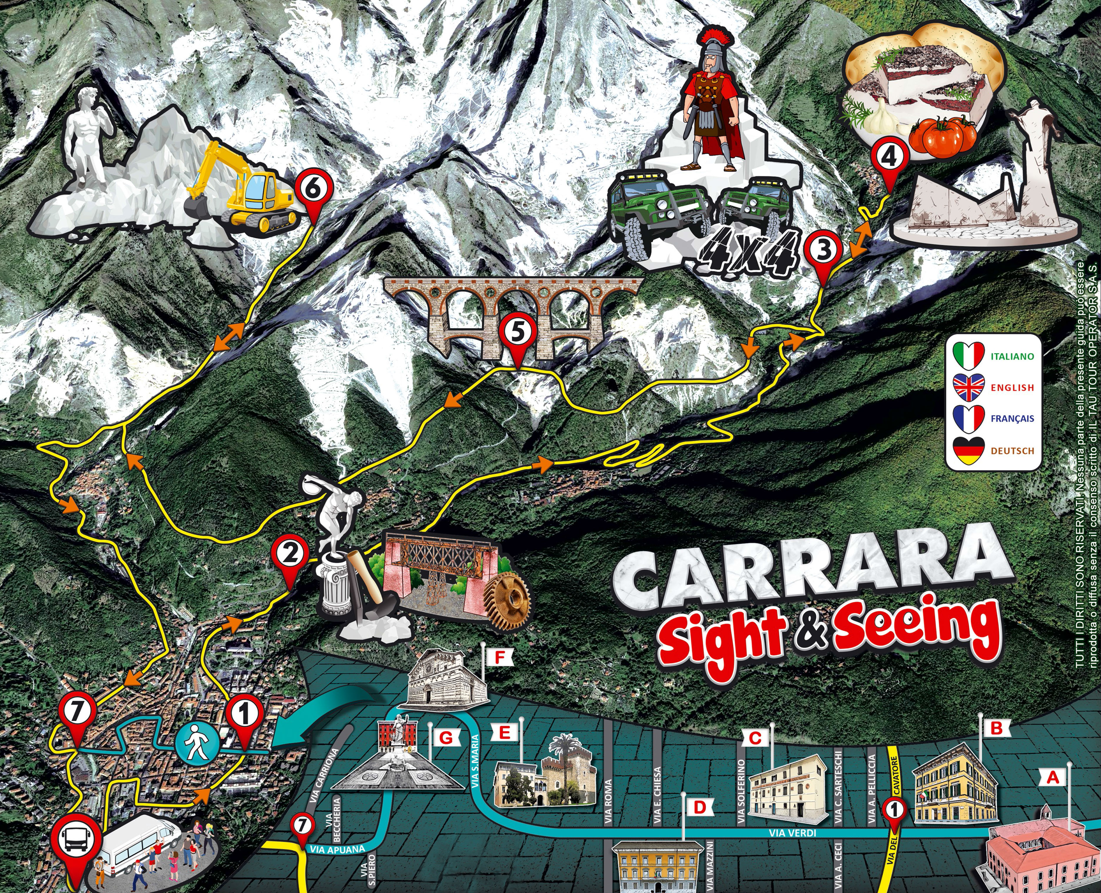 Carrara Sight & Seeing - Bus...